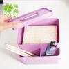 创意简约塑料多功能纸巾盒 居家办公桌面收纳方形抽纸盒 商品缩略图2