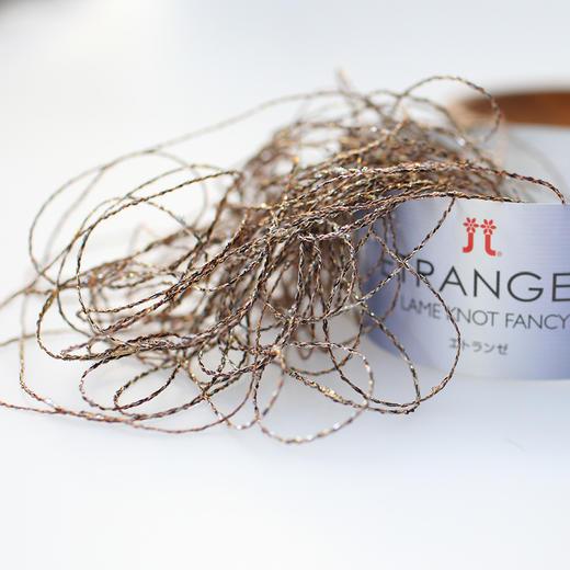 Hamanaka日本进口毛线金银丝结子线不明显段染手工编织钩针蕾丝线 商品图2