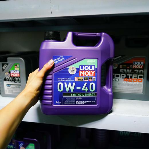力魔 能量全合成机油 0W-40 1L 9514 商品图3