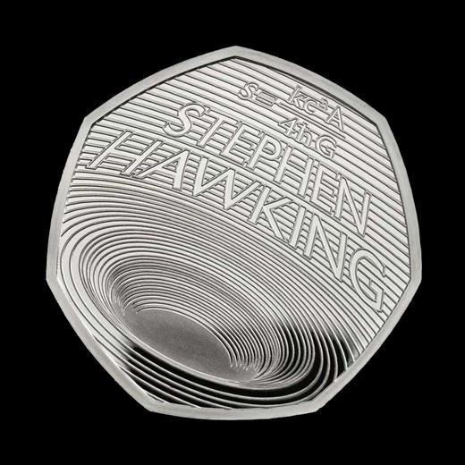 【黑洞币】霍金纪念币(英国皇家造币厂发行) 商品图0