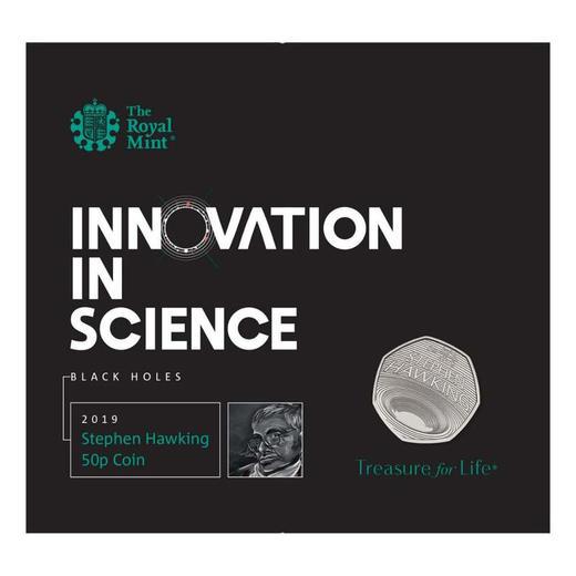 【黑洞币】霍金纪念币(英国皇家造币厂发行) 商品图5