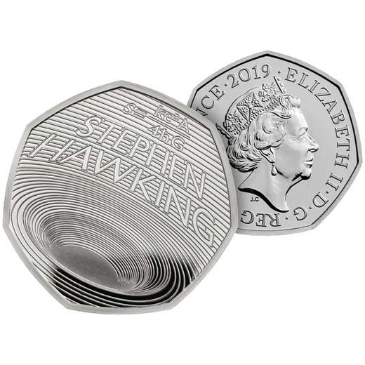 【黑洞币】霍金纪念币(英国皇家造币厂发行) 商品图2