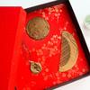 周广胜情人节礼物檀木梳礼盒便携镜子七夕送女友礼品表白创意礼物 商品缩略图2