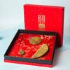 周广胜情人节礼物檀木梳礼盒便携镜子七夕送女友礼品表白创意礼物 商品缩略图3