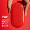 cike小红玩无线充移动电源二合一PD双向QC快充充电宝18w无线充苹果7.5w安卓10w兼容7种快充模式精美小巧可爱 商品缩略图4