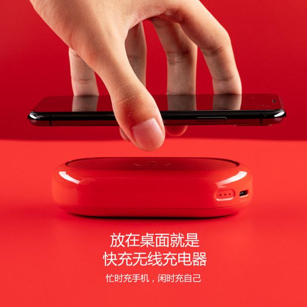 cike小红玩无线充移动电源二合一PD双向QC快充充电宝18w无线充苹果7.5w安卓10w兼容7种快充模式精美小巧可爱 商品图3