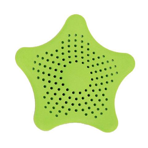 创意防堵过滤网硅胶海星塞地漏四个装ZMXNHXS4G 商品图5