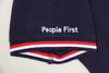 人民网 People First深蓝色 短袖 Polo衫 休闲运动 【珠地棉面料 限量 售完无补】 商品缩略图3