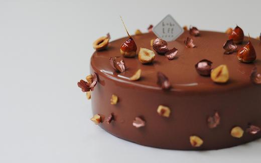 榛果柑橘慕斯蛋糕 商品图1