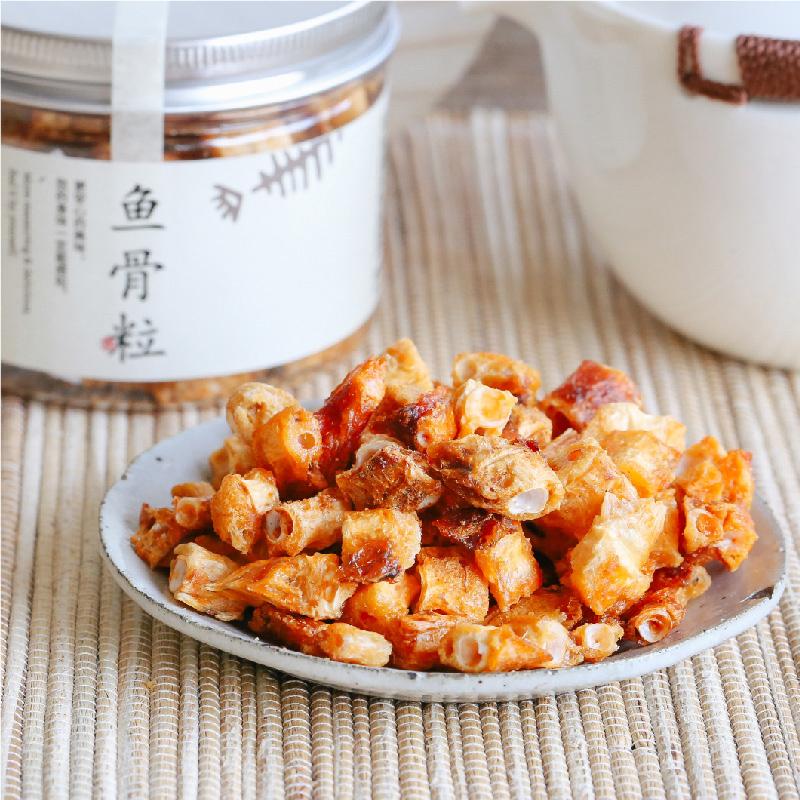 [香酥安康鱼骨粒]比鱼肉还好吃的零食 90g/罐*2罐 商品图0