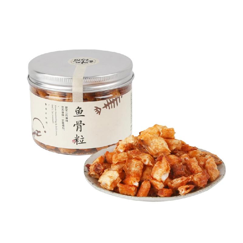 [香酥安康鱼骨粒]比鱼肉还好吃的零食 90g/罐*2罐 商品图2