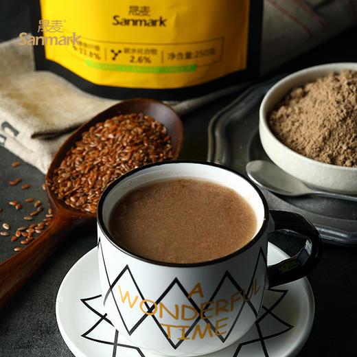 【半岛商城】晟麦 有机亚麻籽粉 250g*2袋 冲调、烘焙、面食伴侣 商品图4