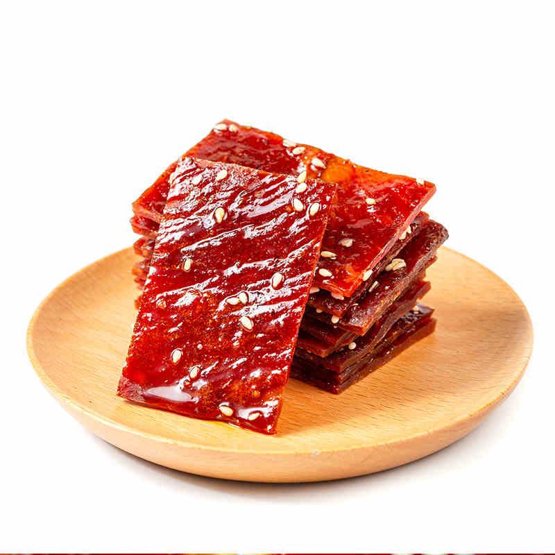 王小卤 猪肉铺160g两袋装 竹筛碳烤 肉香四溢