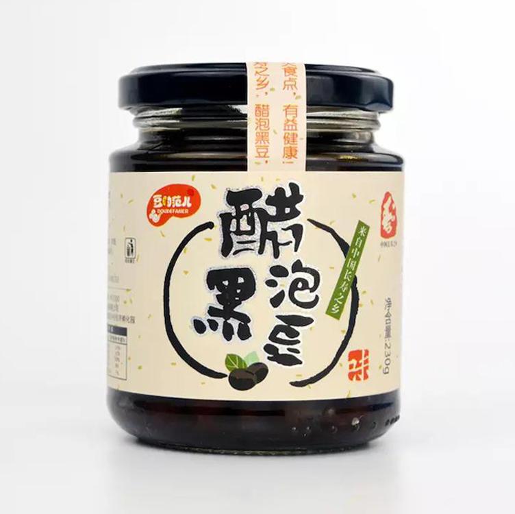 【精选】醋泡黑豆 | 清热明目 美容护肤 | 230g/瓶【营养保健】 商品图0