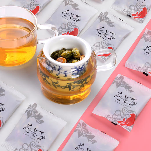花先知 胖大海 罗汉果菊花茶(代用茶)126克 商品图7