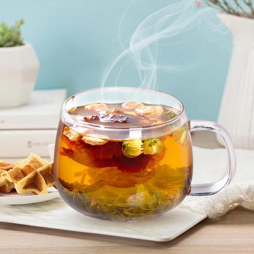花先知 胖大海 罗汉果菊花茶(代用茶)126克 商品图6