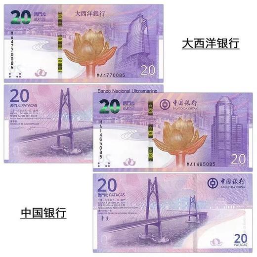 庆祝澳门回归20周年纪念钞(尾三同) 商品图0