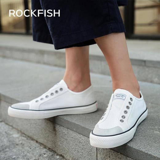 不怕水的英国 Rockfish 小白鞋!梅根王妃怀孕都穿,防雨防污,显腿长! 商品图11