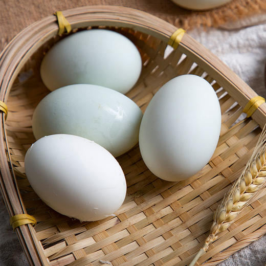 鄱阳湖野鸭蛋 蛋白结实通透 蛋黄色泽好 20枚装 商品图4