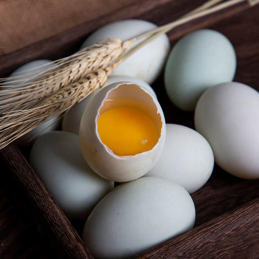鄱阳湖野鸭蛋 蛋白结实通透 蛋黄色泽好 20枚装 商品图0
