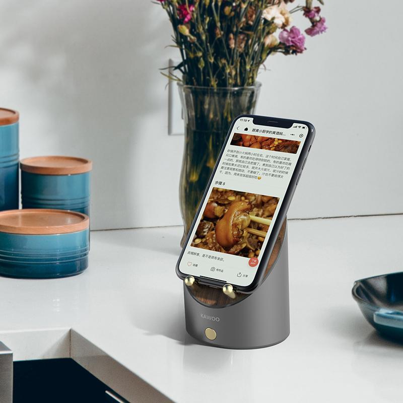 【黑科技感应音箱】开物桌面闹钟、感应、蓝牙三合一小音箱