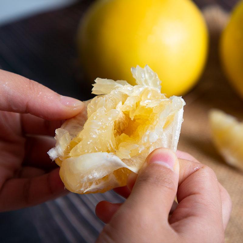 【农道好物精选】可直接吸的平和黄金葡萄柚 皮薄多汁 酸甜爽口 柚香四溢 4.5-5斤装 商品图3