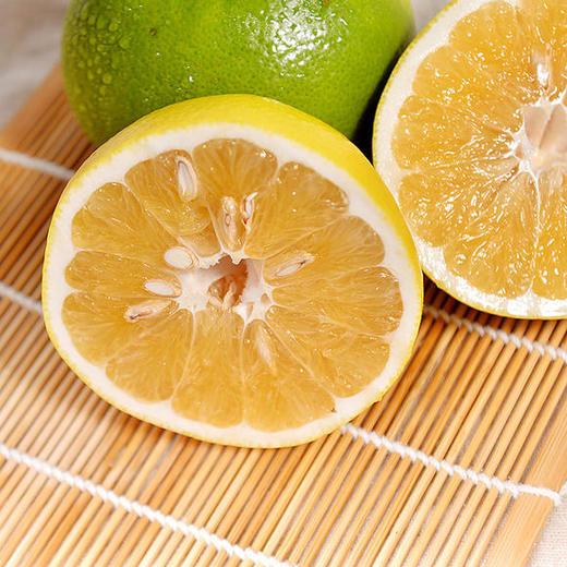 可直接吸的福建漳州葡萄柚 皮薄多汁 酸甜爽口 柚香四溢 净重4.8-5.2斤 商品图0