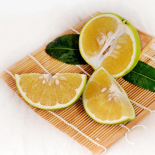 可直接吸的福建漳州葡萄柚 皮薄多汁 酸甜爽口 柚香四溢 净重4.8-5.2斤 商品图4