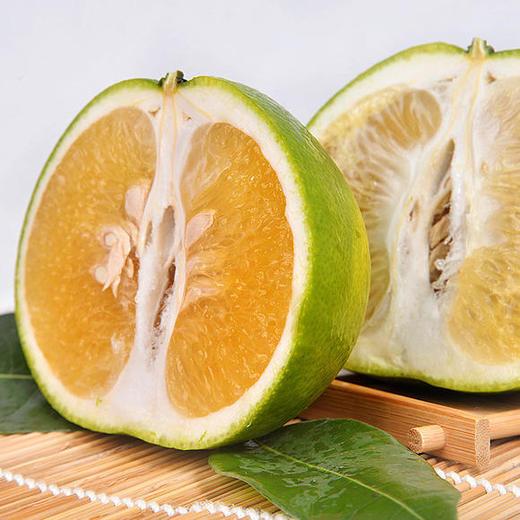 可直接吸的福建漳州葡萄柚 皮薄多汁 酸甜爽口 柚香四溢 净重4.8-5.2斤 商品图3