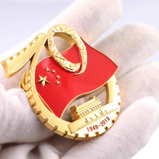【官方授权】国庆阅兵仪式标志徽章 商品图2