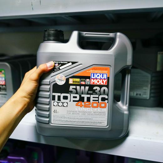力魔 顶技4200 全合成机油 5W-30 4L 3715 商品图0