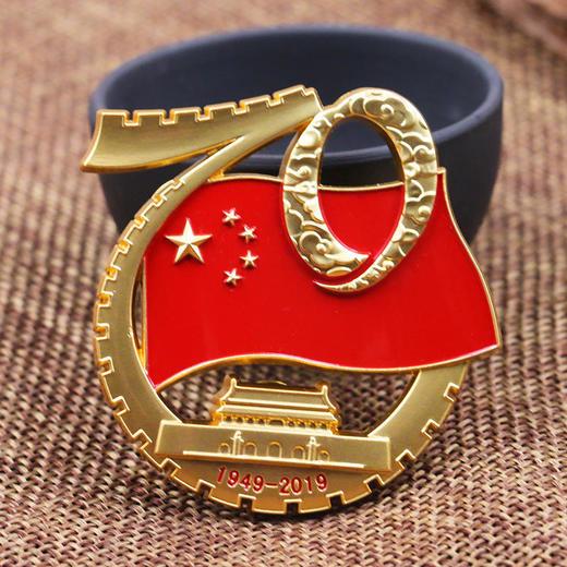 【官方授权】国庆阅兵仪式标志徽章 商品图0