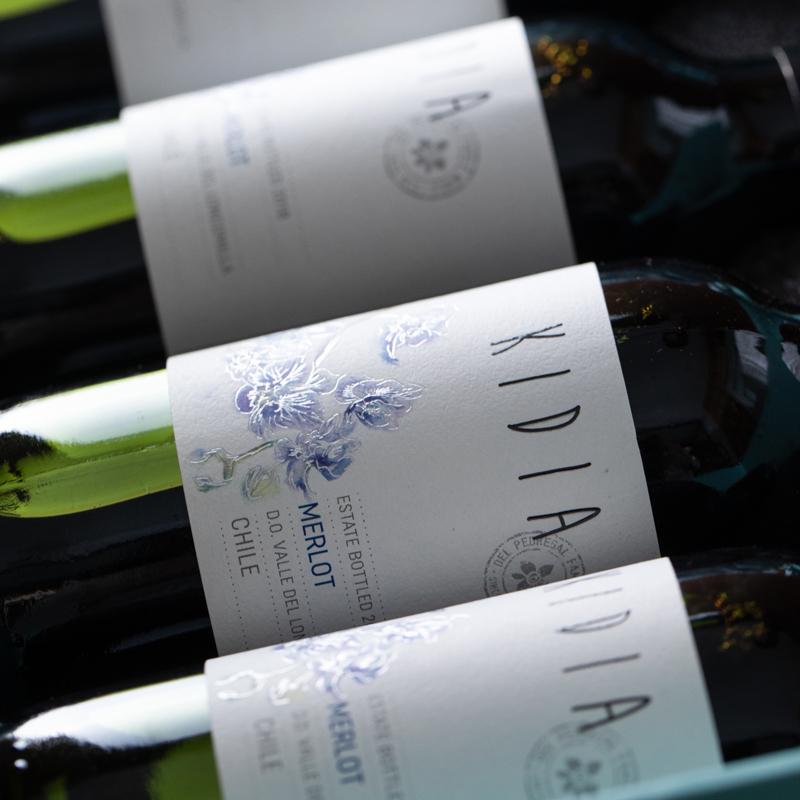 [迷你版梅洛干红 蒂芙尼蓝礼盒装]可以藏在口袋里的酒 智利蒂兰酒庄 187ml/瓶 6瓶装 商品图5