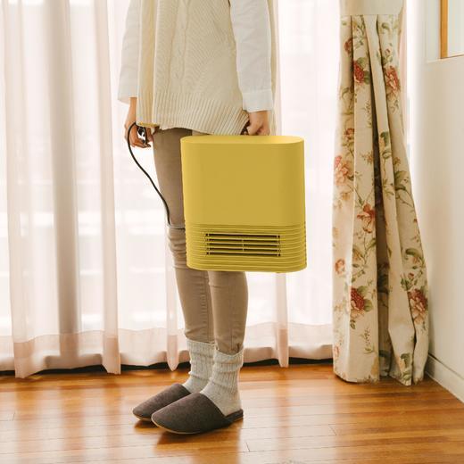 日本正负零陶瓷暖风机|电暖气取暖器家用小型迷你节能省电电暖风 商品图3