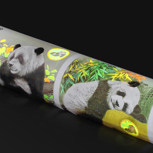 【中国印钞造币】联合国大熊猫钞艺画 商品图5