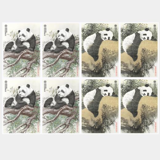 【中国印钞造币】联合国大熊猫钞艺画 商品图1