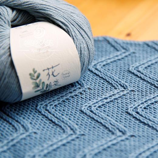 【花线莫兰迪】30%羊毛70%棉 手工编织毛线钩针棒针线 商品图2