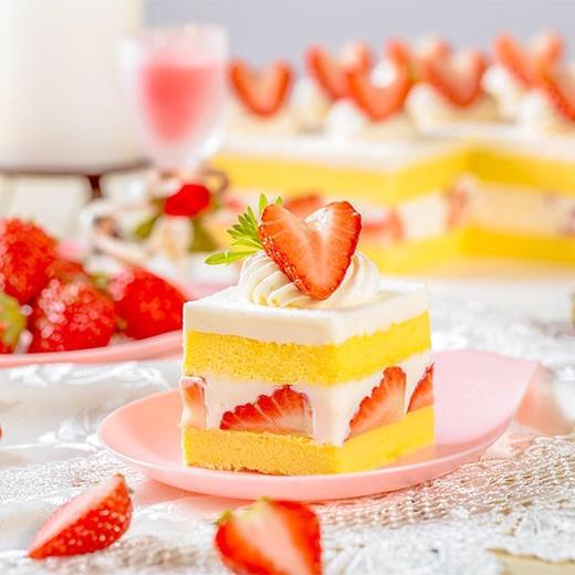 新品·1磅(6英寸)草莓格格·下午茶蛋糕 商品图2