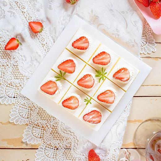 新品·1磅(6英寸)草莓格格·下午茶蛋糕 商品图1