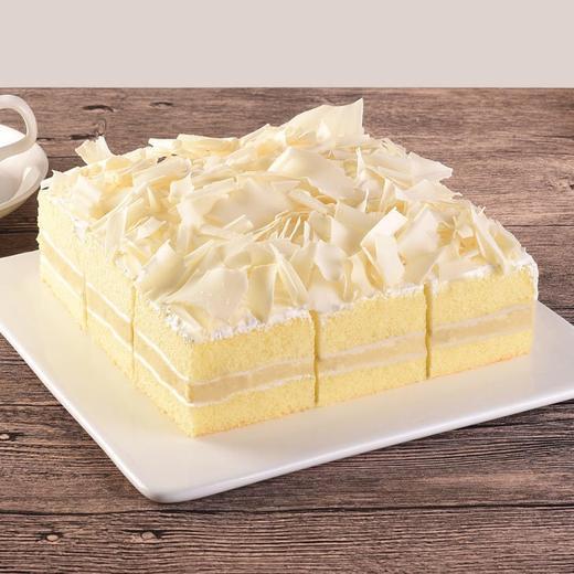 新品·1磅(6英寸)雪心榴莲·下午茶蛋糕 商品图0