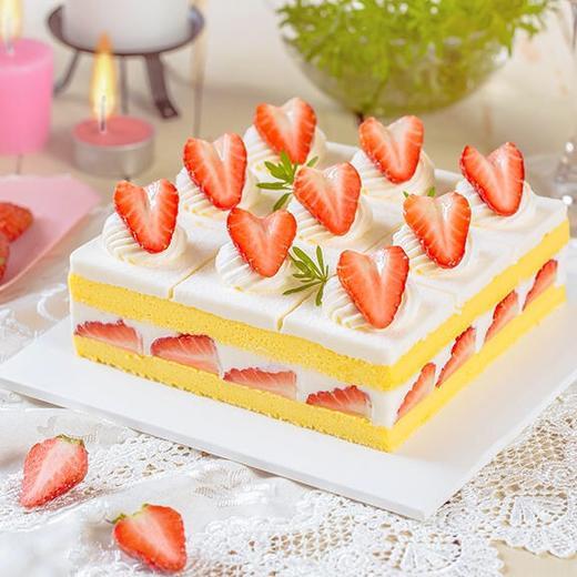 新品·1磅(6英寸)草莓格格·下午茶蛋糕 商品图0