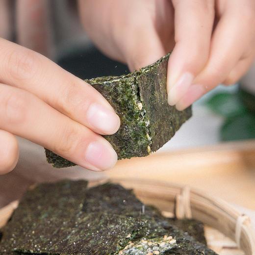 【买二送一,买五送三】芝麻夹心海苔脆 满口芝麻 鲜香海苔 层层酥脆 60g/罐 商品图3