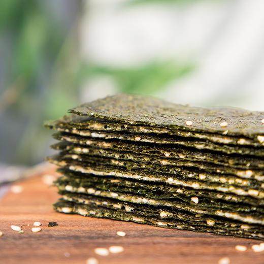 【买二送一,买五送三】芝麻夹心海苔脆 满口芝麻 鲜香海苔 层层酥脆 60g/罐 商品图0