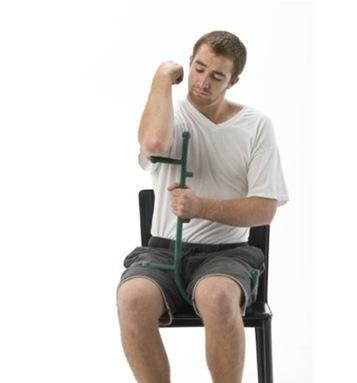 原始点不求人背部按摩器 手动按摩治疗棒 深度点穴按摩杖 商品图0
