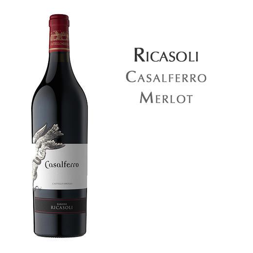 瑞卡索卡萨菲洛梅洛, 托斯卡纳 意大利 IGT Ricasoli Casalferro Merlot, Toscana IGT Italy 商品图1