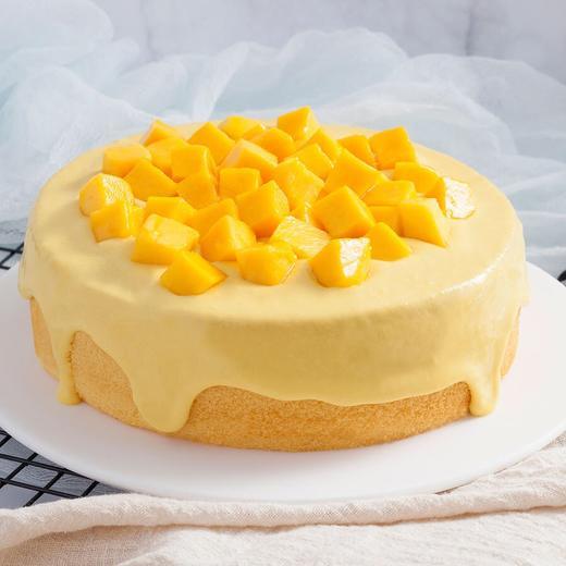 芒果奶盖蛋糕 | 抖音网红芝士流心下午茶蛋糕 商品图1