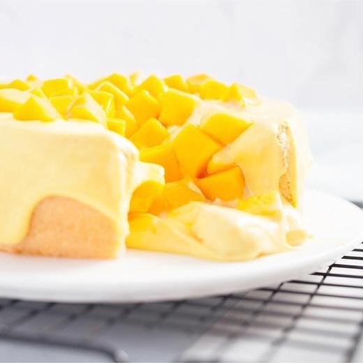 芒果奶盖蛋糕 | 抖音网红芝士流心下午茶蛋糕 商品图2