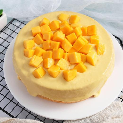 芒果奶盖蛋糕 | 抖音网红芝士流心下午茶蛋糕 商品图0