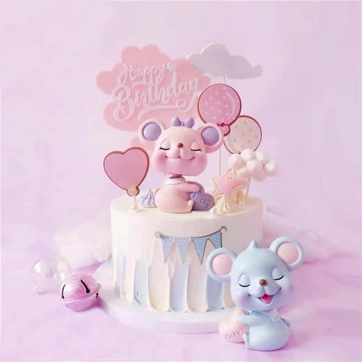 【鼠年上新】鼠宝宝Lucky baby·新年卡通蛋糕 商品图0