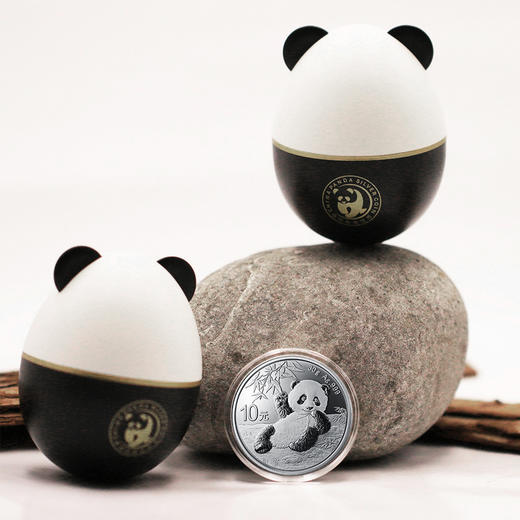 【超萌推荐】2020年熊猫30克银币彩蛋萌趣版 商品图2